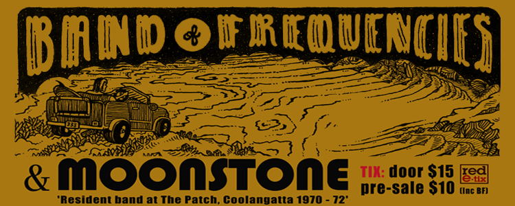 Moonstone Tour Poster A3 Poster