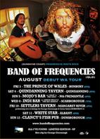 BOF WA A3 Tour Poster