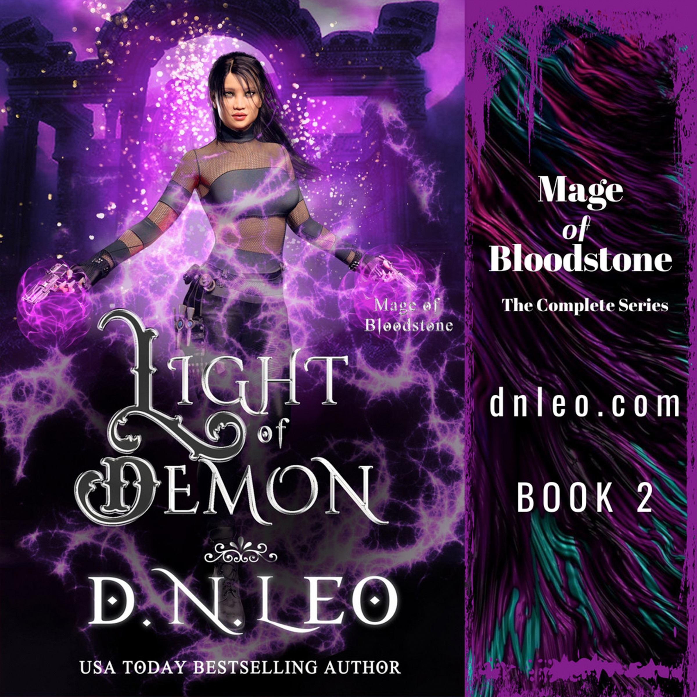 Light of Demon - Mage of Bloodstone - Book 2