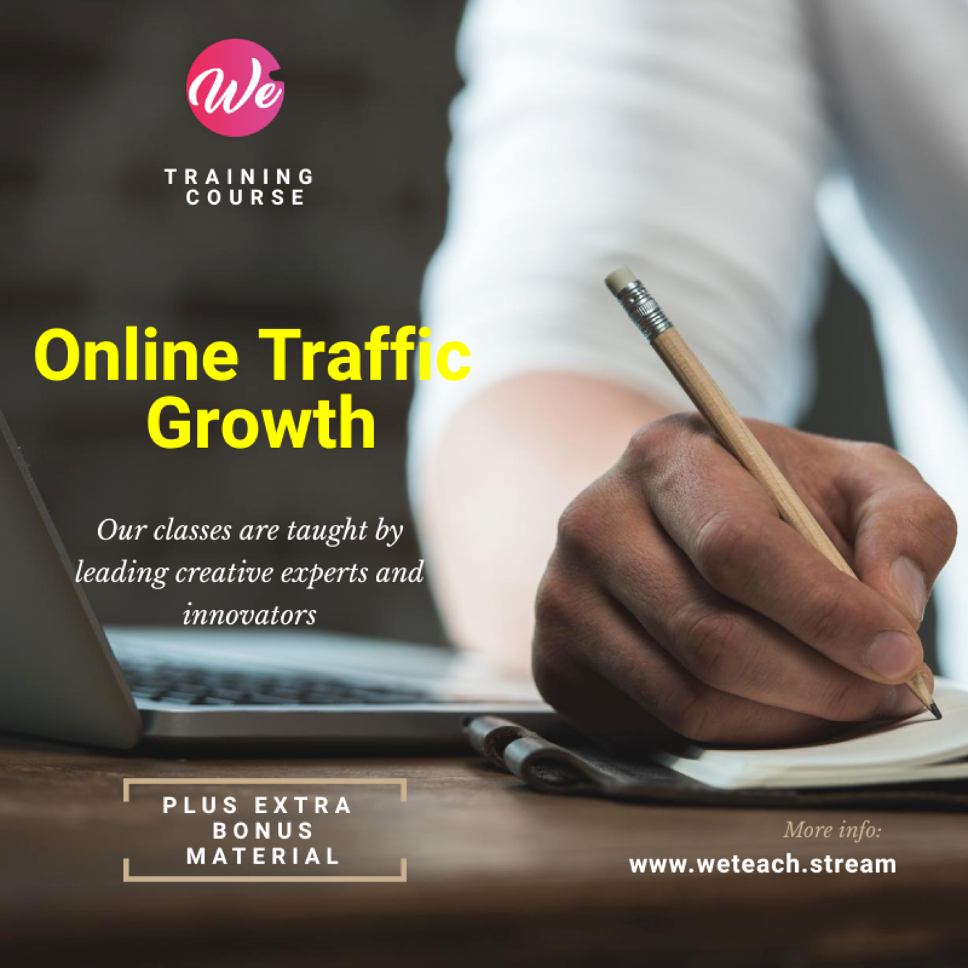Learn The Secrets to Growing Online Traffic (Audio)