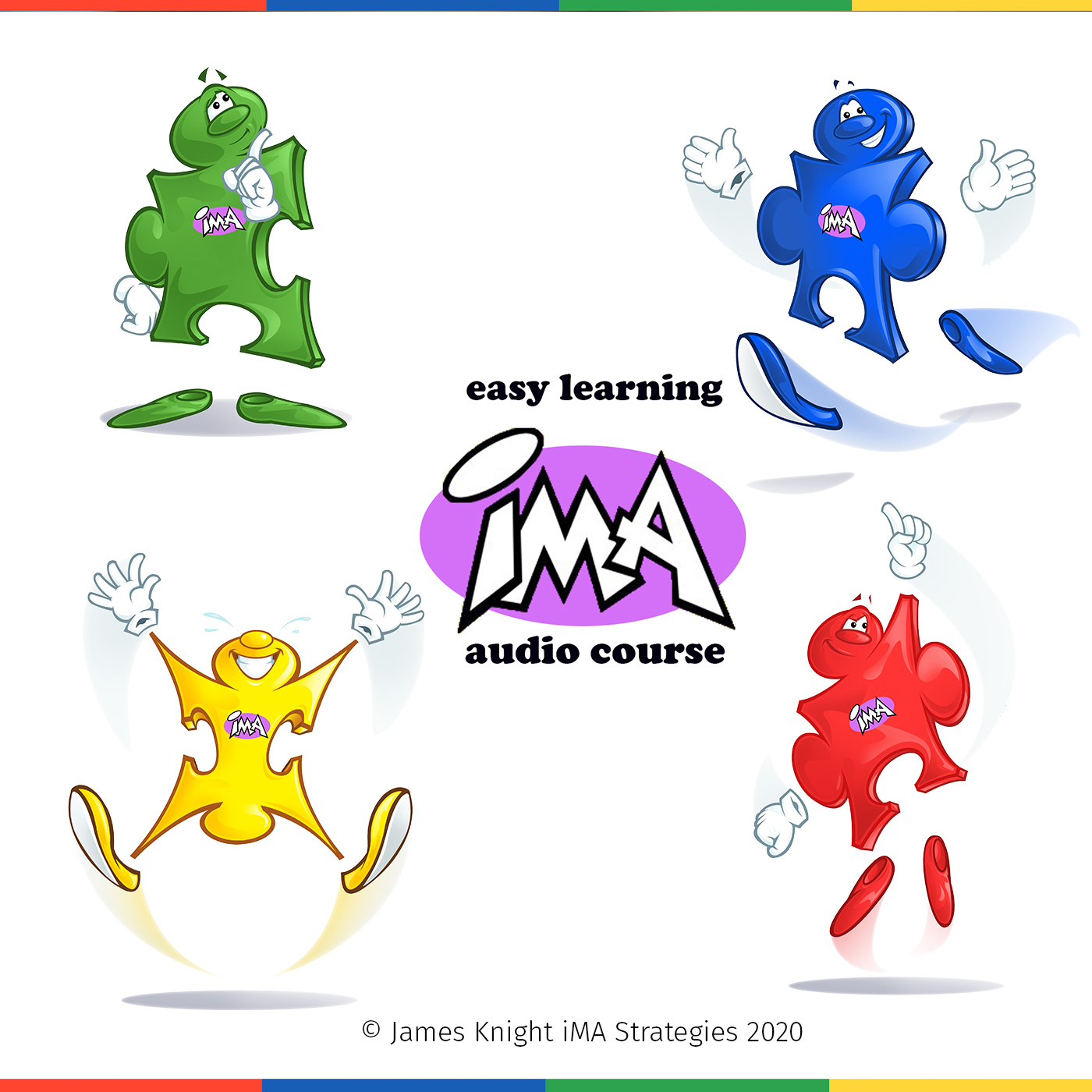 High Yellow Easy Learning iMA Audio Course