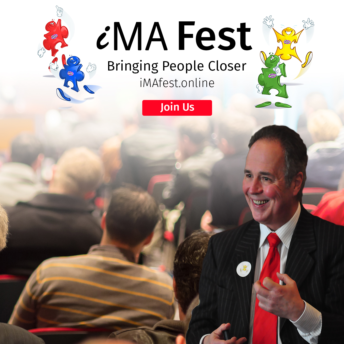 Special Invitation:  July  iMA Fest ...Making Differences Work for You!