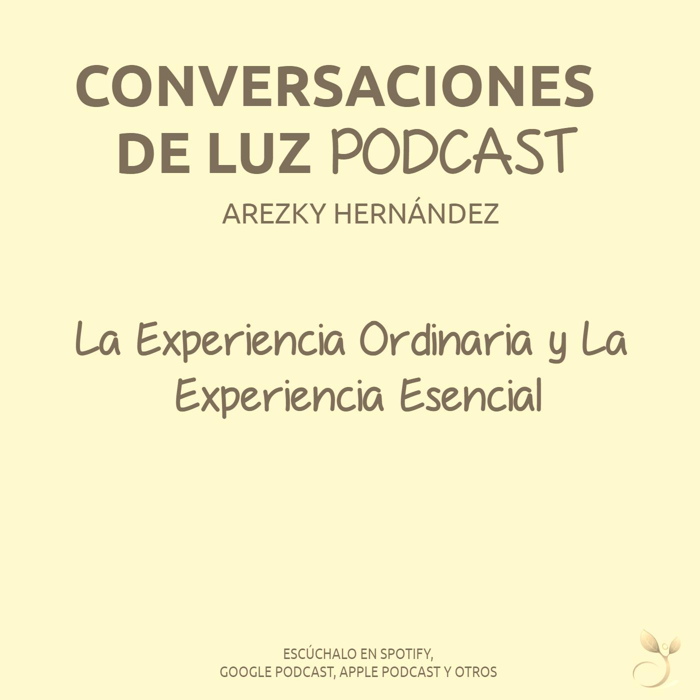 (CDLP05) La Experiencia Ordinaria y La Experiencia Esencial