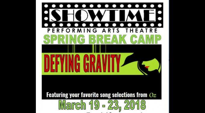 Spring Break Camp DEFYING GRAVITY