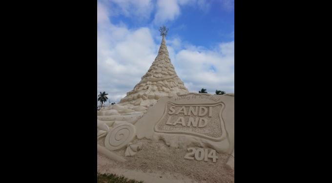 Sandi Land at the Waterfront