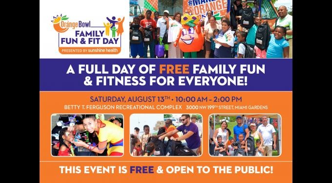 Orange Bowl Family Fun & Fit Day