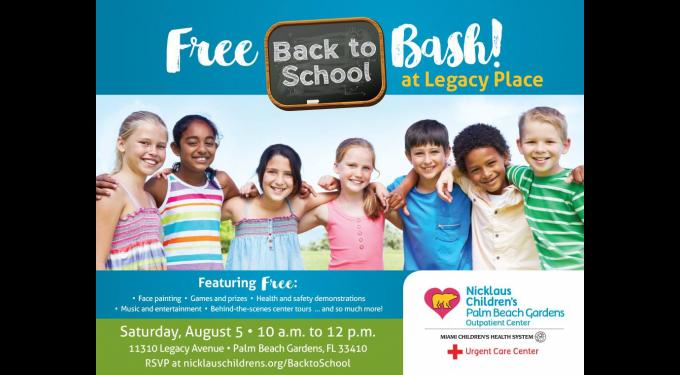 Nicklaus Back to School Bash