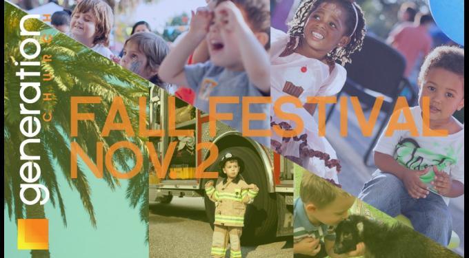 Generation Church Fall Festival
