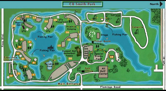 Cb Smith Park Map C.B. Smith Park | South Florida Finds