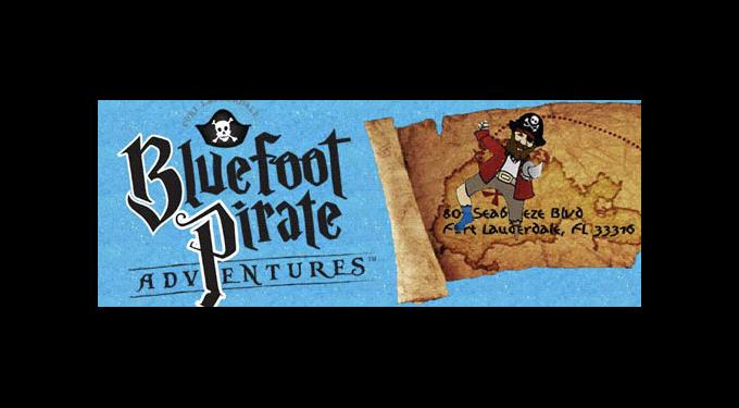 Bluefoot Pirate Adventure