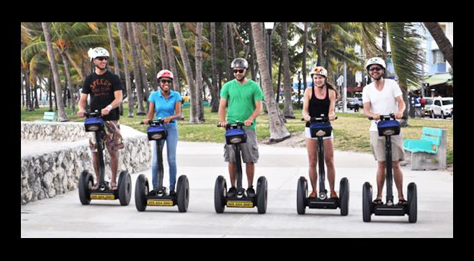 Bike and Roll Miami Segway Tours