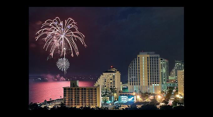 4th of July Spectacular on Fort Lauderdale Beach