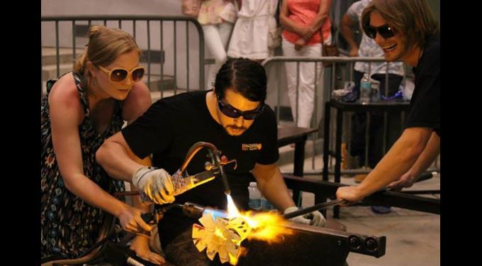 Live Glassblowing Demonstrations