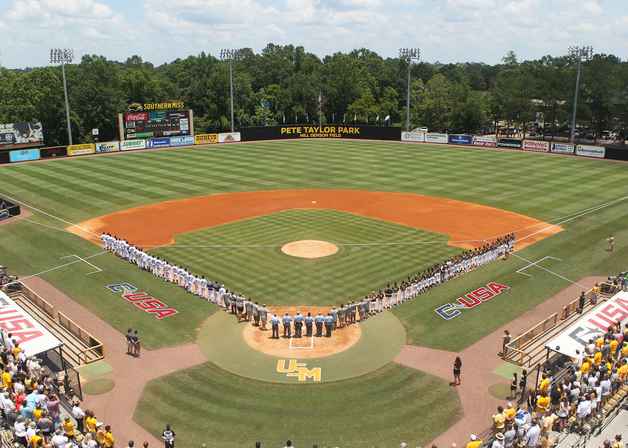 baseball announces homeandhome series with mississippi
