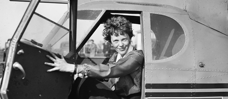 """amelia earhart women role investigation Amelia earhart's resting place thought to be found as barbie march 8 by releasing a new line of role model the new """"inspiring women."""