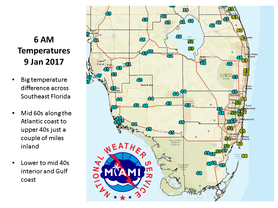 Cold Again Before A Slow Warmup Begins South Florida