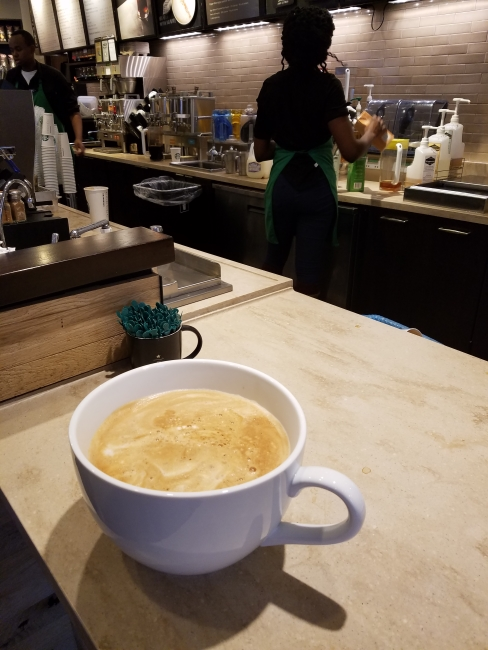 "Baristas continue to make ""most expensive Starbucks coffee"" ""©SouthFloridaReporter.com"