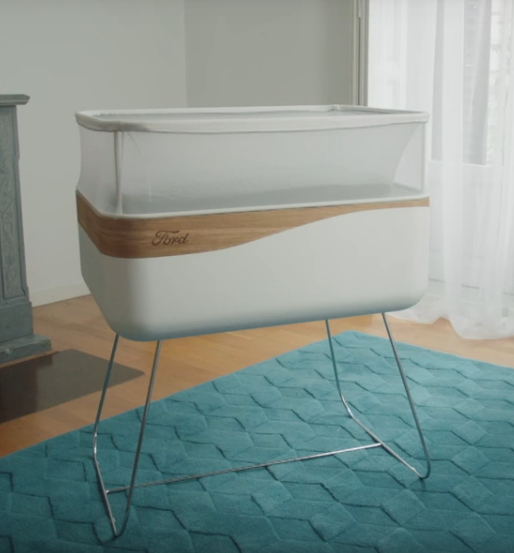 The Latest From Ford A Crib To Rock Your Baby To Sleep