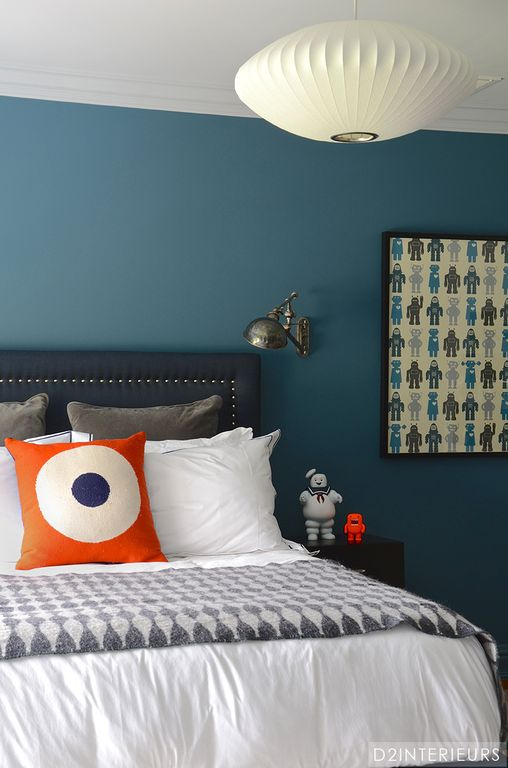Cadet blue bedrooms Homes with light cerulean to cadet blue bedroom wall colors can come with a $1,856 premium.