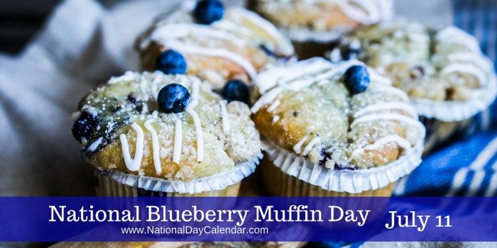 National-Blueberry-Muffin-Day-July-11 - South Florida Reporter