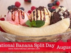 banana split day