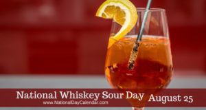 Whiskey Sour Day