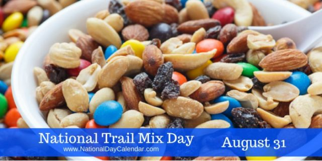 trail mix day