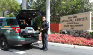 Pinecrest Cops Using State-of-Art DUI Enforcement Car This Weekend