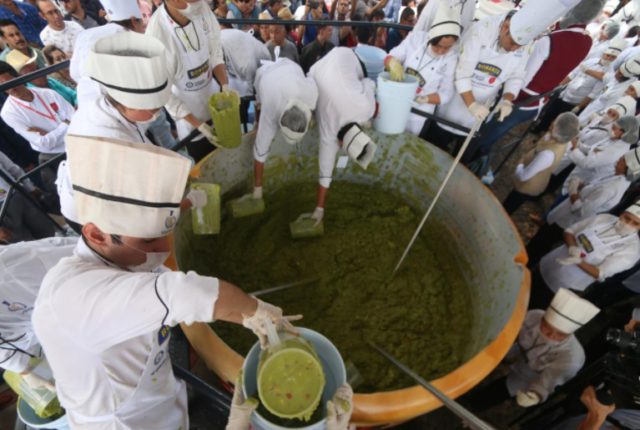 guacamole world record