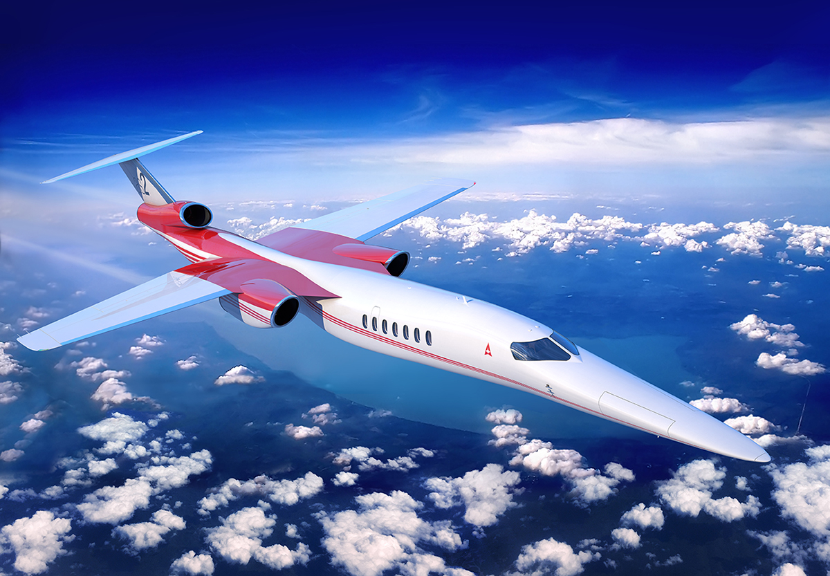 Place Your Order for the World's First Supersonic Business