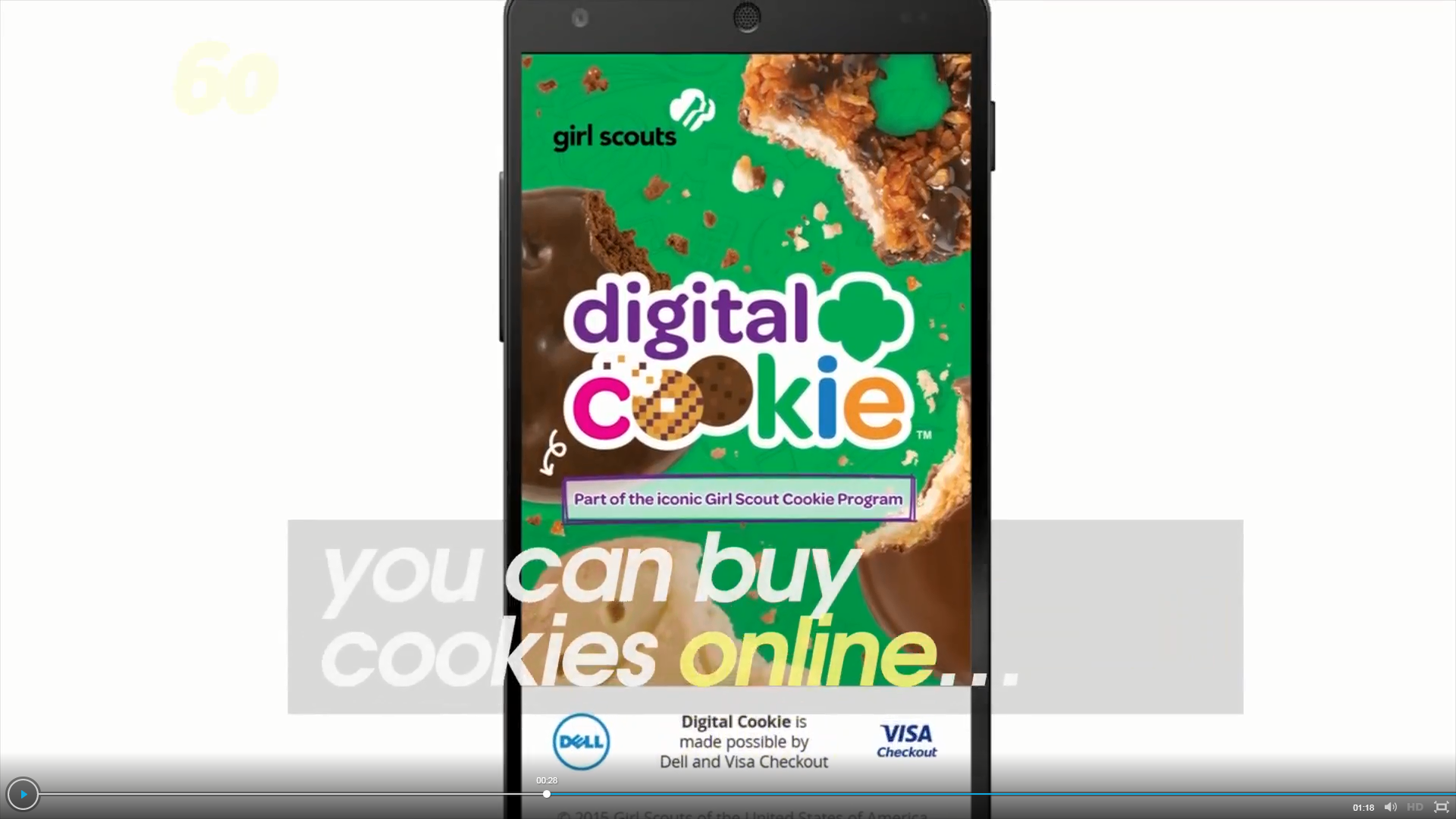 Girl Scouts to sell S'mores cookies door-to-door, digitally