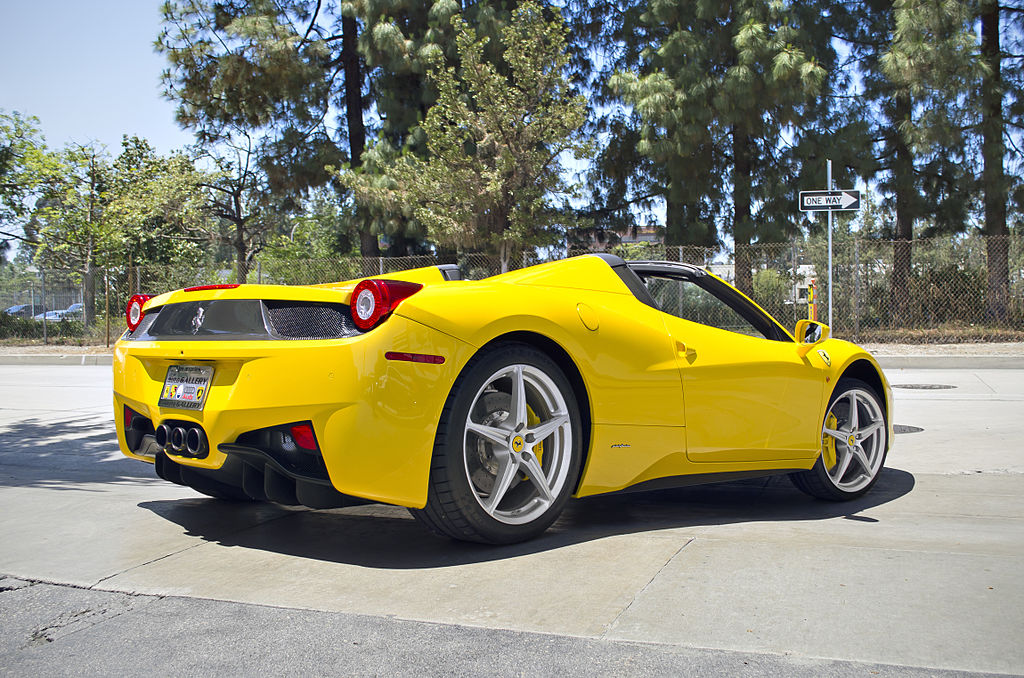 Hotel Valet Gives Ferrari 458 Spider Keys To The Wrong Person