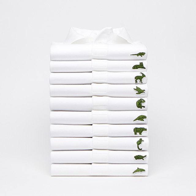b9fb20abb21b Lacoste s Iconic Crocodile Makes Room for 10 Endangered Species ...