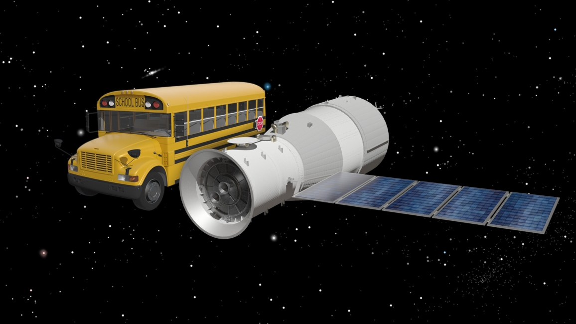 China's Tiangong-1 Space Lab Will Likely Fall to Earth Easter Weekend