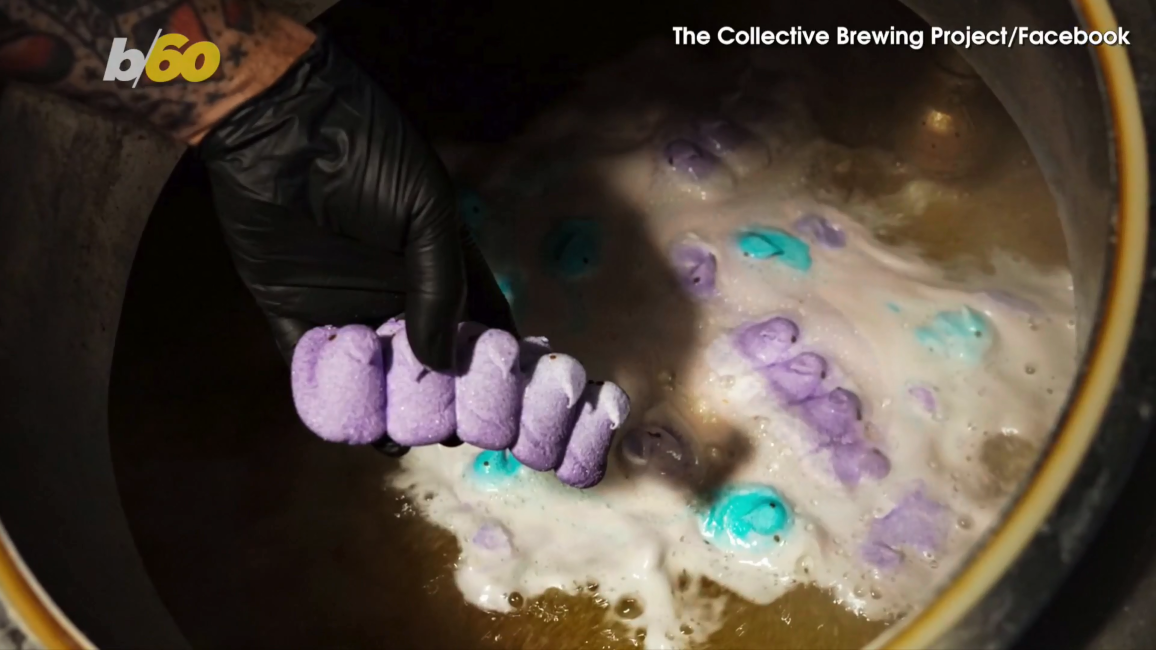 Peeps-flavored beer unveiled at Texas brewery