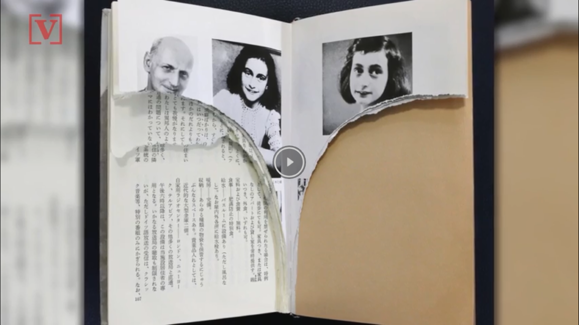Dirty Jokes Found In Anne Frank S Diary Video South Florida Reporter