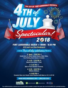 Independence Day at the City of Fort Lauderdale @ A1A and Las Olas Boulevard | Fort Lauderdale | Florida | United States