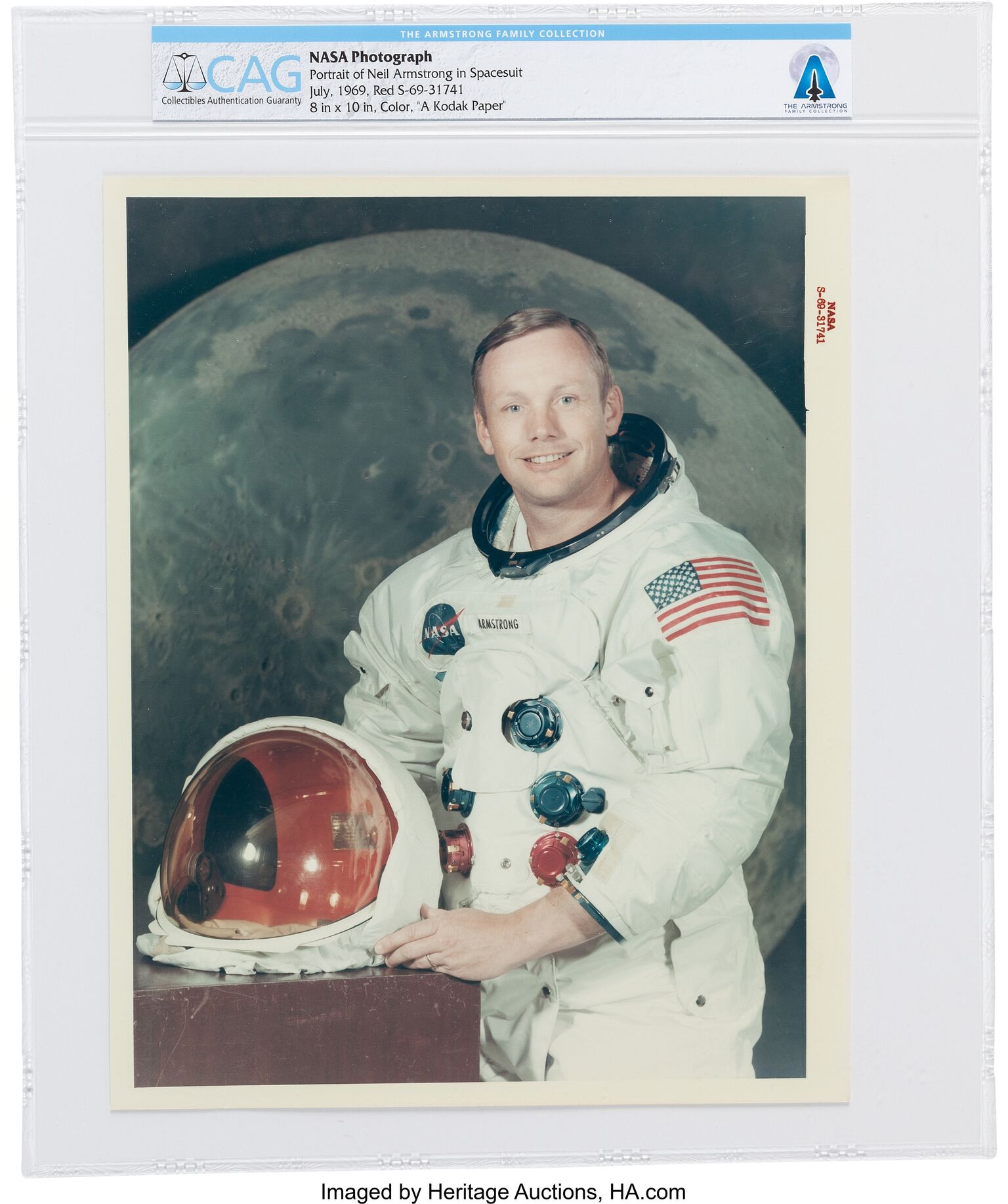 First Moonwalker Neil Armstrong's Private Collection to be ...