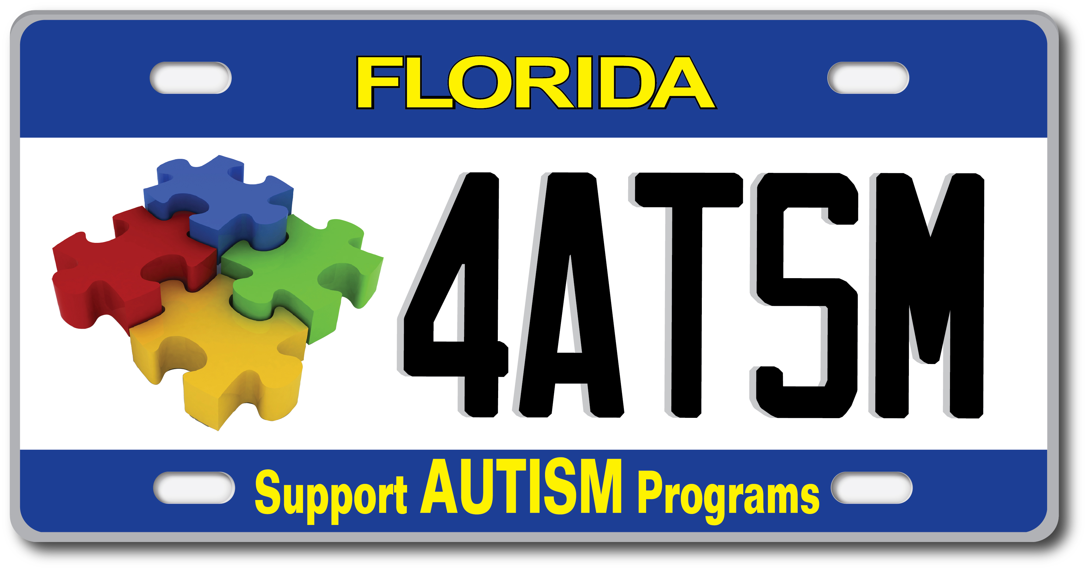 Support Autism Services By Purchasing A Specialty License Plate