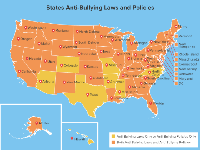 Study Ranks Florida 41st In States With Bullying Problems on Truancy Prevention