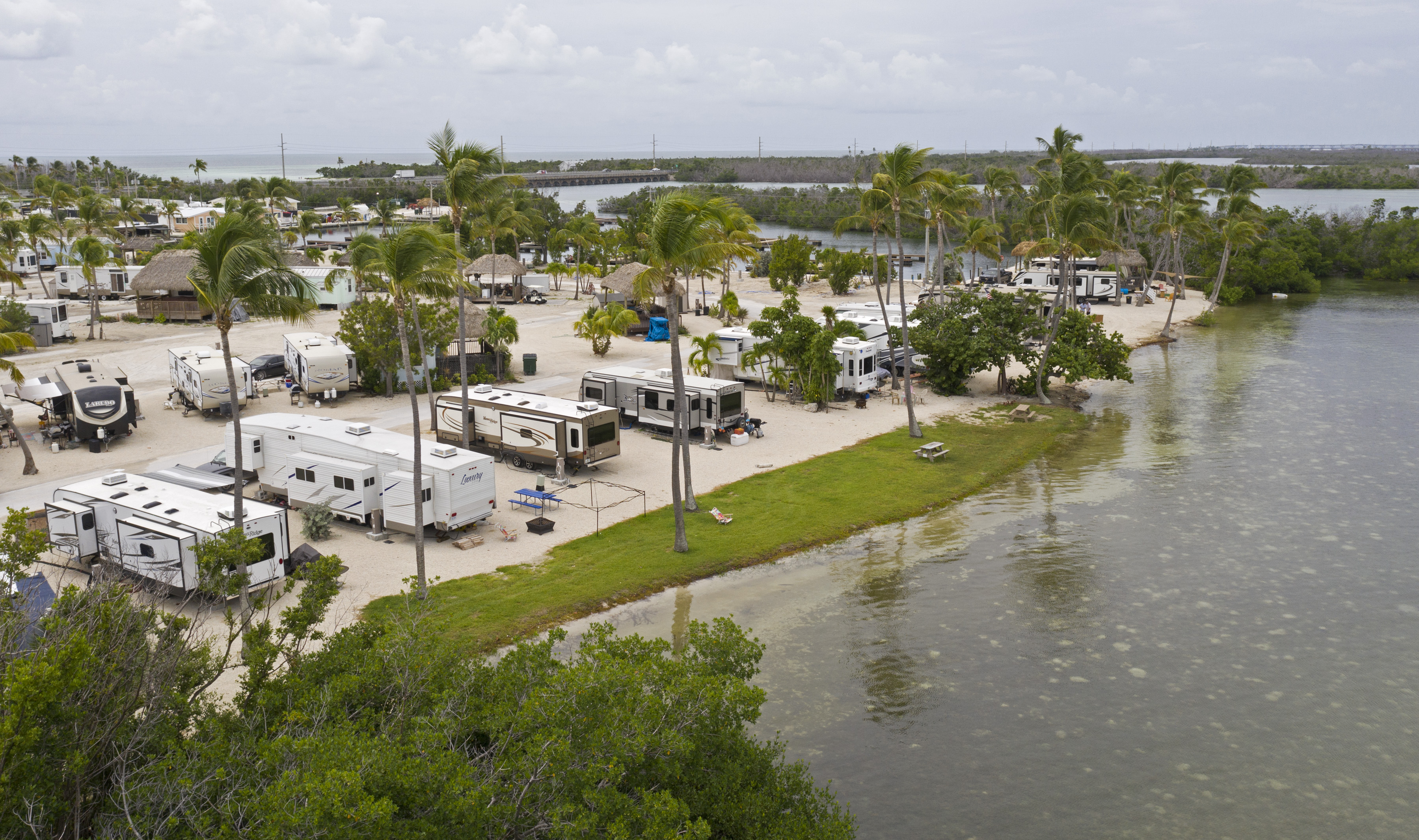Watch As Sunshine Keys Rv Resort Reopens A Year After Irma