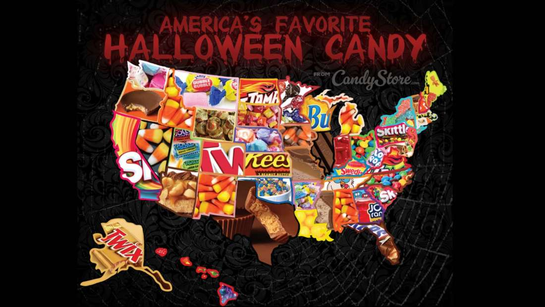 Most Por Halloween Candy State-by-State [Interactive Map ...  States Interactive on highway maps of wa states, alabama 55 states, tour the states, map of colorado and bordering states, the three most populous us states, midwest states, smallest to largest states, southern states, can texas divide into 5 states, hetalia states, most business friendly states, map of homeschool friendly states, blank us map color states, usa states, do you know your states, untied states, west states, map of arkansas and surrounding states, large us map showing states, 2014 european union member states,