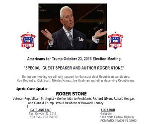 'Trump October Election - Box Banner