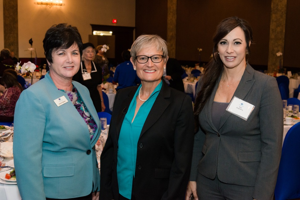 Jean Seaver, Broward College Foundation Board Member and Broward Health AVP for Learning and Development, Ginger Martin, CEO of American National Bank, and Amy Engleberg, EVP / Chief Lending Officer at American National Bank