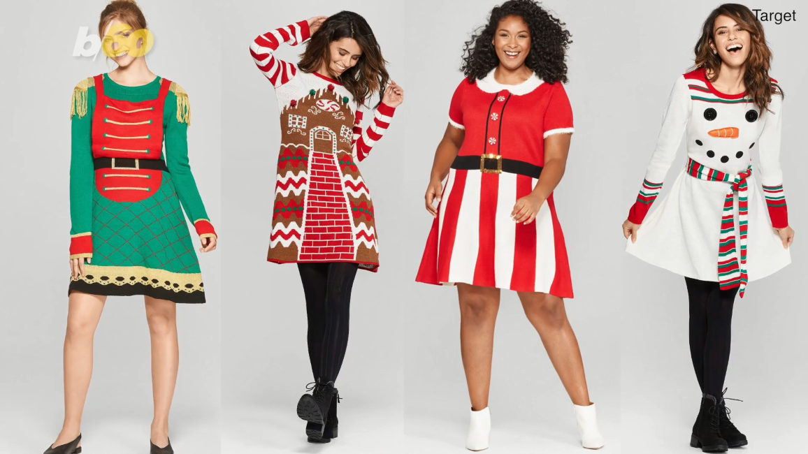 Move Over Ugly Sweaters These Ugly Christmas Dresses Are
