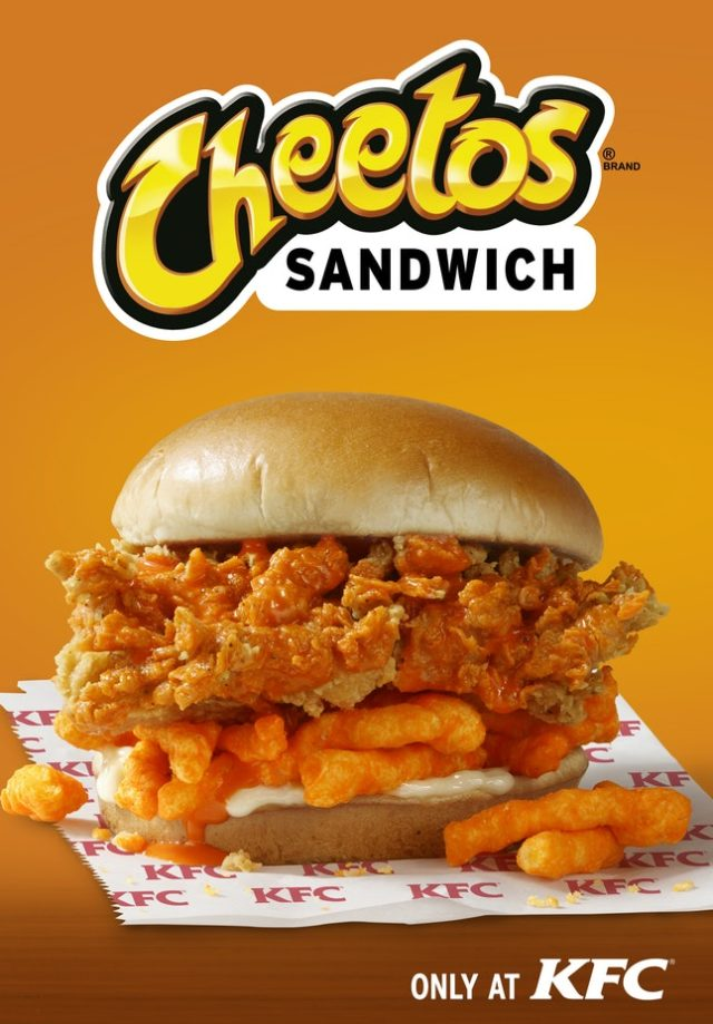 Kfc And Cheetos Finally Make The Sandwich You Didn T Know