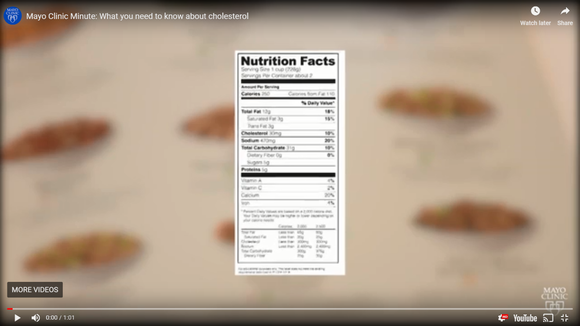 What You Need To Know About Cholesterol (Video) - South Florida Reporter