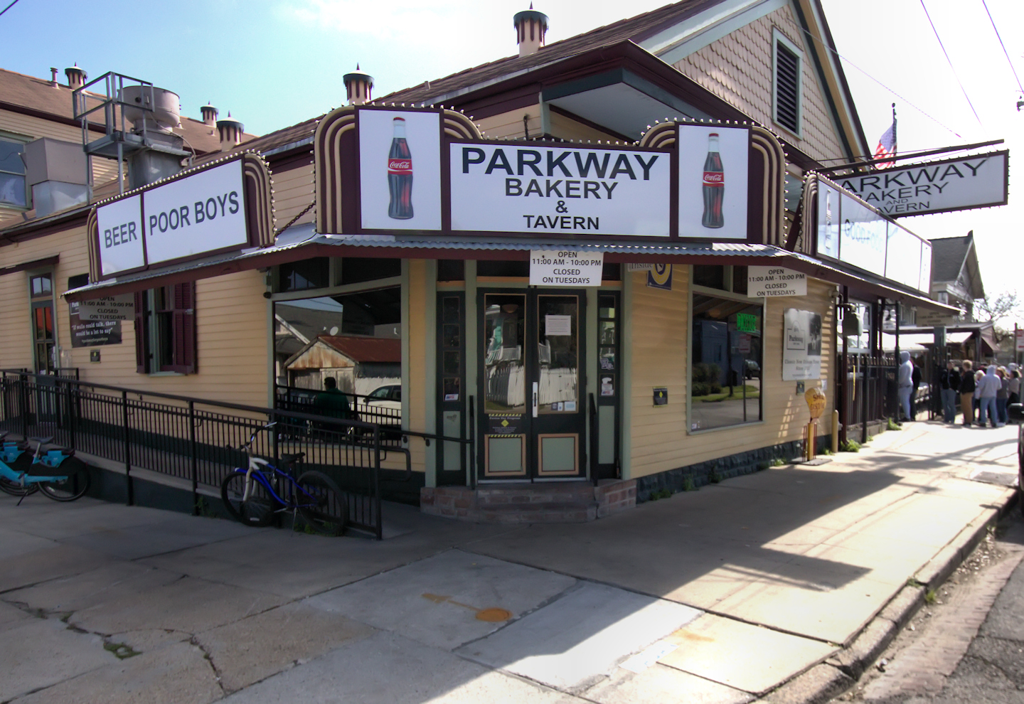 Parkway Bakery and Tavern New Orleans