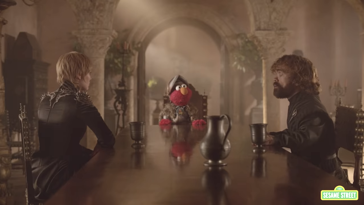 Sesame Street and Game of Thrones Collide in This Epic Crossover