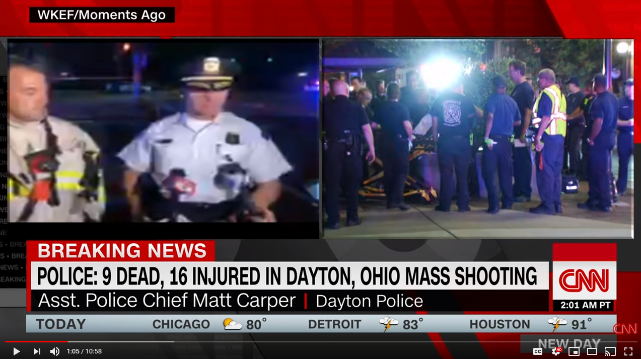 dayton ohio mass shooting